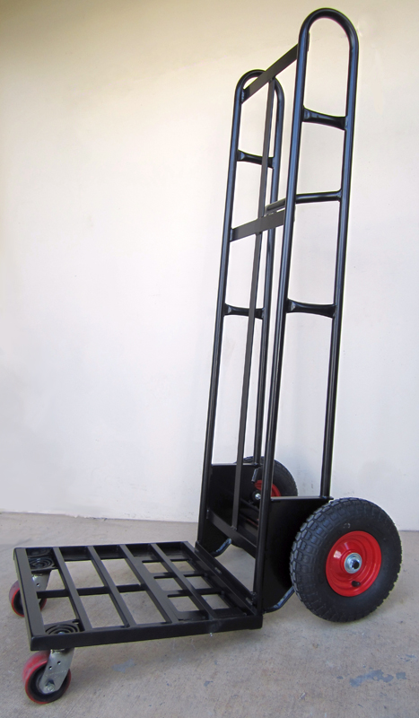 LoadBreaker Custom Sack OFFSIDER Tilt Trolley - Flour Bag 2012 #Black