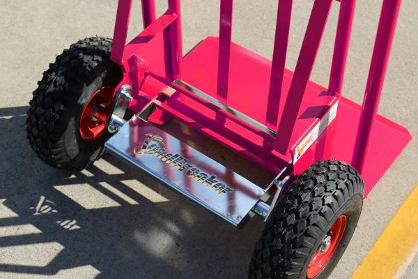 LoadBreaker Custom Offsider Appliance Tilt Trolley Powdercoat Colour - Pink Panther