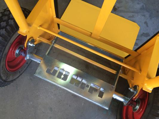 LoadBreaker Custom JBHIFI Kickplate & Powdercoat Colour YELLOW